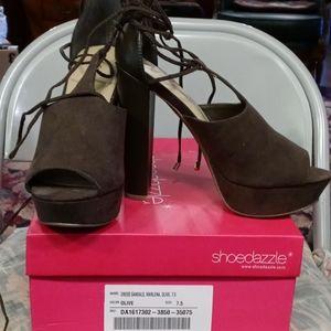 Dress Shoes Olive Green